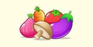 vegetables game assets